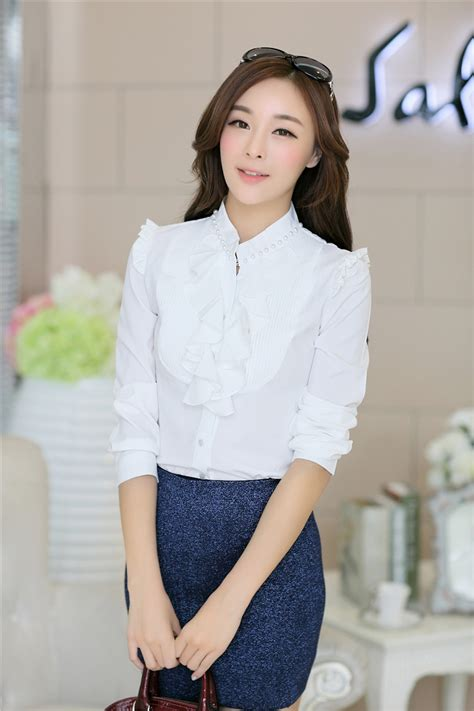 Baju Dafina Top Es 1 sleeved fashion office attire