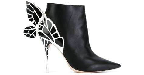 webster boots webster chiara boots in black lyst