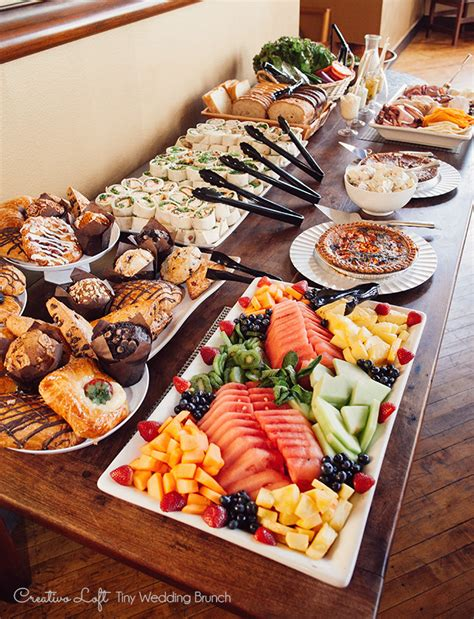 Chicago Small Wedding Packages Chicago Small Weddings Brunch Buffet Chicago