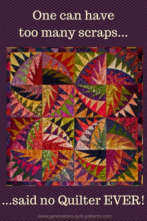 One Fabric Quilts by Scrappy Quilts Choosing Quilting Material For Scrap Quilt Patterns