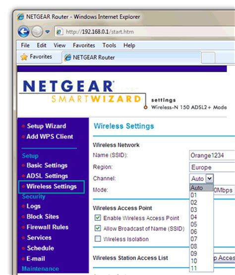 Why Can T Find My Channel Netgear Router Change Wireless Channel