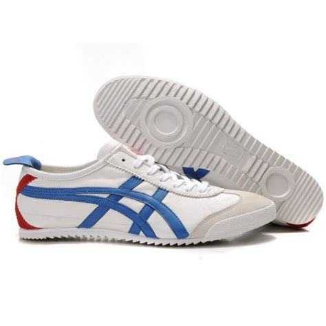 Asics Onitsuka Tiger Mexico 66 Delux 2014 asics onitsuka tiger mexico 66 deluxe womens shoes white blue 112 00 asicsonsale