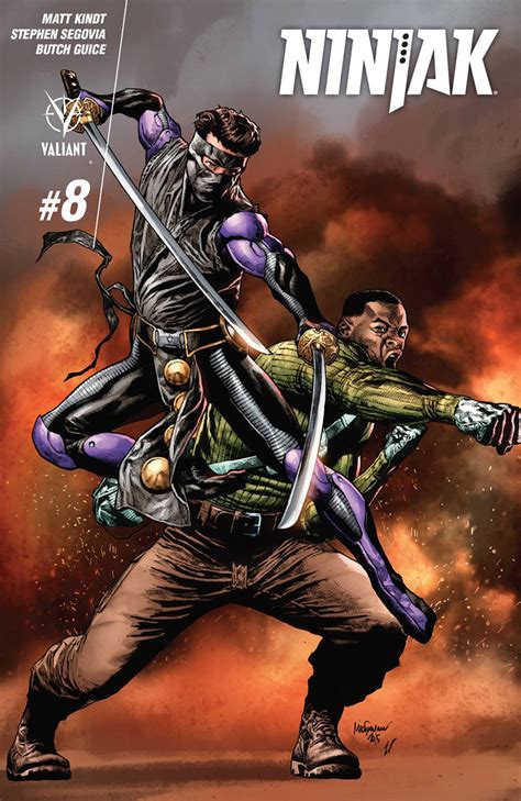 Out And About Nation 8 by Comic Book Review Ninjak 8 Geeked Out Nation