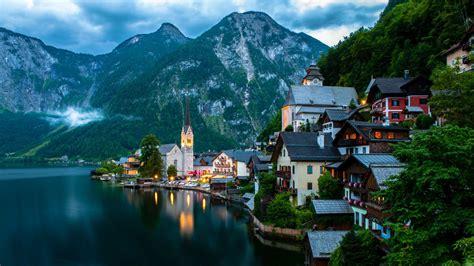 Hallstatt, Austria   HD wallpaper download. Wallpapers, pictures, photos.