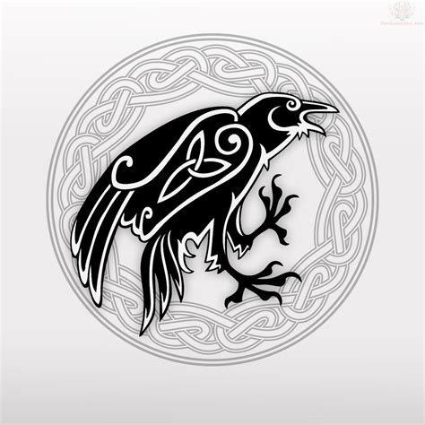 celtic raven tattoo celtic images designs