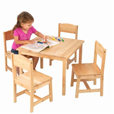 farmhouse table and 4 chair set tables and chairs for best of kidkraft farmhouse