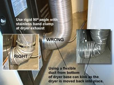 Clothes Dryer Duct Installation Dryer Vent The Hidden Danger Article Written By Bob