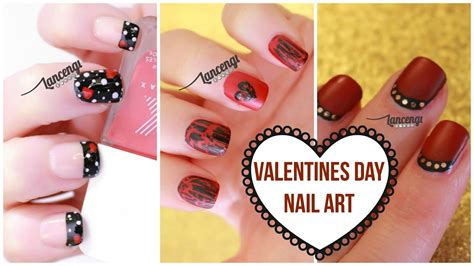 diy cute easy nail art  beginners  valentines