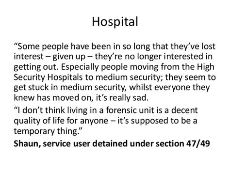 section 17 mha cqc mental health act quotes