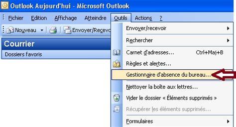 message absence du bureau exemple message d absence du bureau 28 images outlook