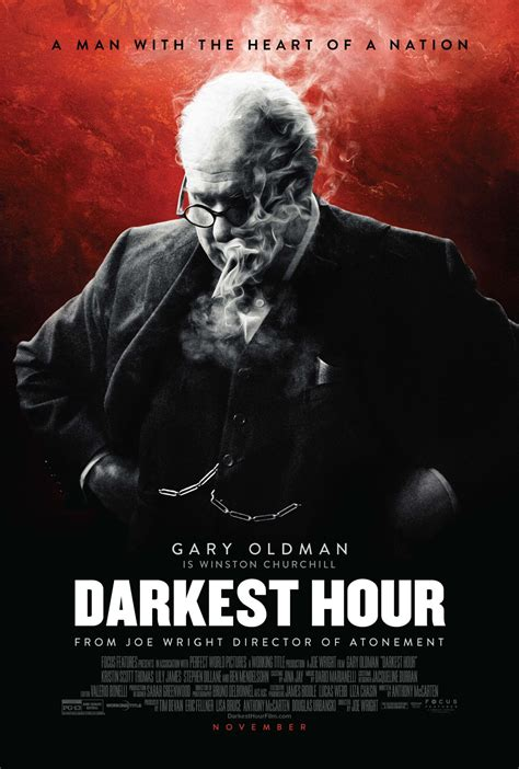 darkest hour the new darkest hour poster featuring gary oldman as