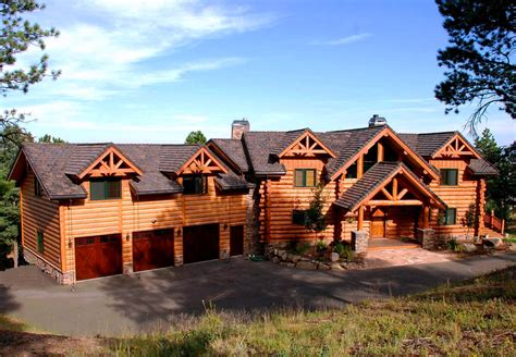 country homes exterior pictures custom handcrafted milled log homes ute country homes