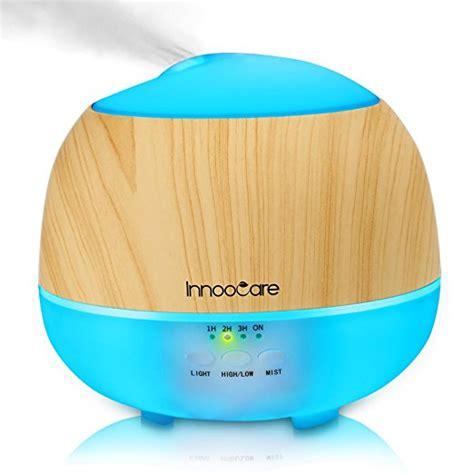 innoocare  ml wood grain essential oil diffuser