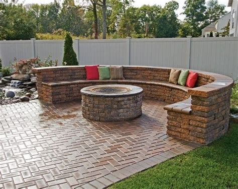 best 25 brick pits ideas on diy firepit
