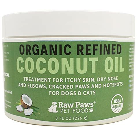 itchy skin coconut paws pet organic coconut for dogs cats 8 ounce treatment for itch ebay