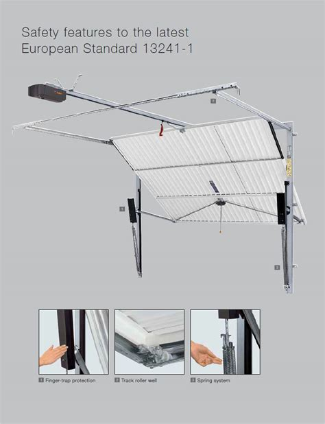 Retractable Garage Door Mechanism The Garage Door Centre Garage Doors Kettering Wellingborough Northton Northants