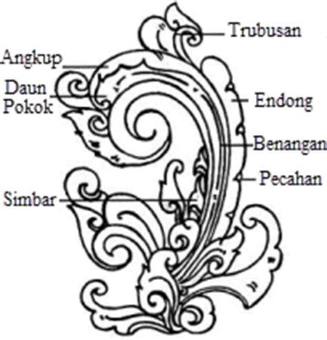 Motif Pola Seni Mosaic Pattern motif seni ukir nusantara mikirbae