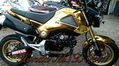 Sticker Honda Msx by Honda Msx 2015 Gold Sticker Zoomerx