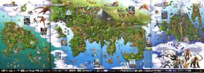 Map Of The Pokemon World by World Map Pok 233 Mon Photo 942767 Fanpop