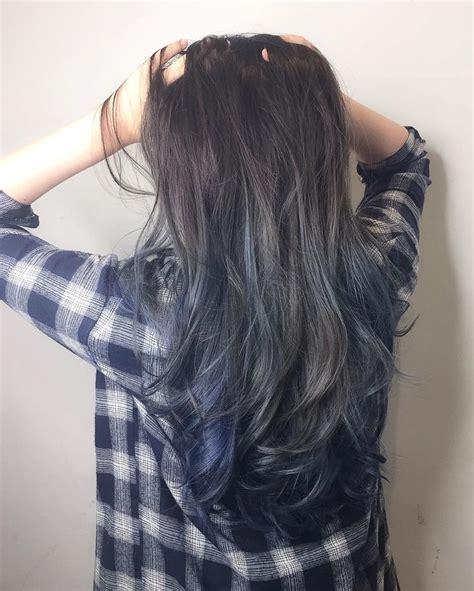 silver blue hair on pinterest lemon hair highlights 25 great ideas about blue hair highlights on pinterest