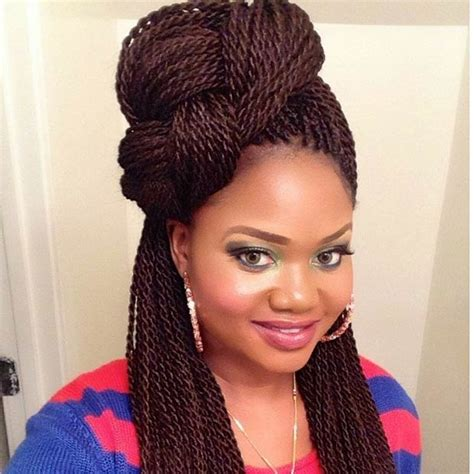 med style twist bried 29 senegalese twist hairstyles for black women braided