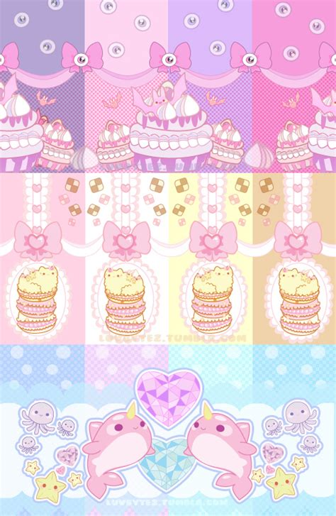 cute pattern set cute print pattern set by 3lie on deviantart