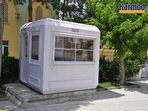 bureau prefabrique cabine en fibre de verre modulaire prebabricated