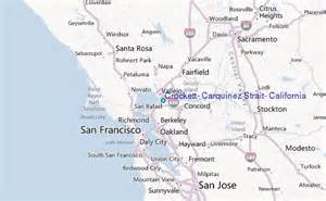 map crockett crockett carquinez strait california tide station
