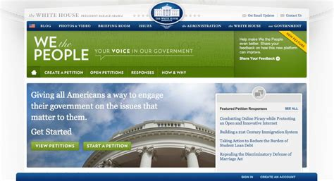 Petition White House