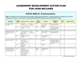 Leadership Development Plan Template by Best Photos Of Leadership Plan Template Personal
