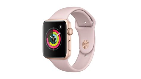 Iwatch 42mm Gold apple series 3 gps 42mm gold pink sand sport