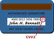 Sle Credit Card Number With Cvv2 Code Cvv2 Cvc2 Help