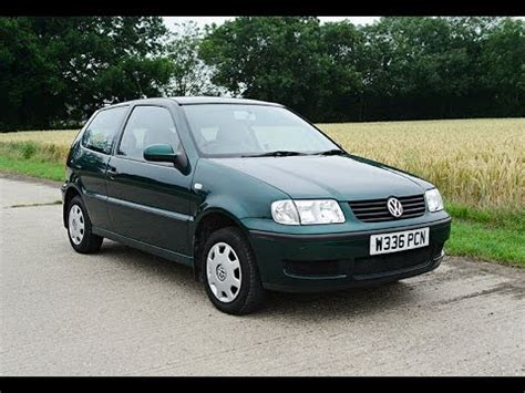 volkswagen polo 2000 2000 vw volkswagen polo video review engine start youtube