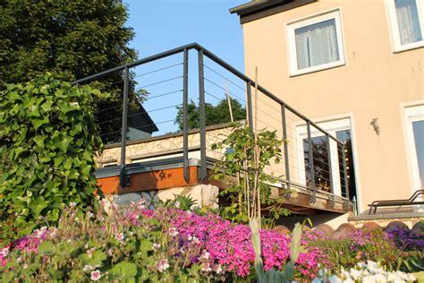 terrassengel nder seil erfreut drahtseil f 252 r terrassengel 228 nder ideen der