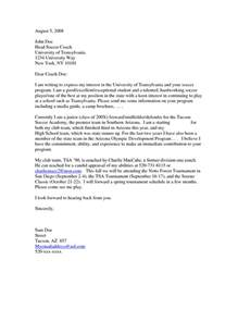 letter of interest for employment sle letter of