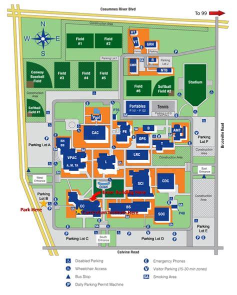 cosumnes river college map regional meeting asccc