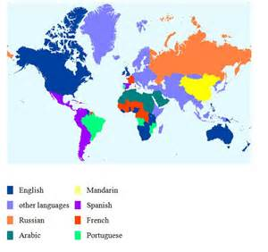 Language Map Of The World by Top 5 Languages In The World For Rtw Travelairtreks Travel
