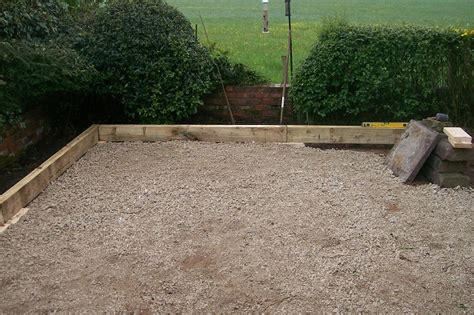 Laying Garden Sleepers by Garden Landscaping Project In Bredbury Indian And