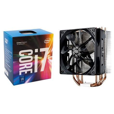 i7 7700k cpu fan intel 7th gen intel core desktop processor i7 7700k