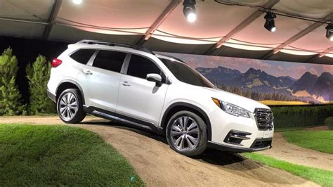 Subaru Forester Seating by 2019 Subaru Ascent Arrives With New Turbo Engine Seating