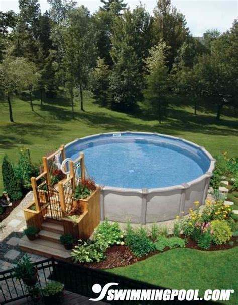 above ground pool backyard landscaping ideas 63 best images about above ground pool on pinterest dorm