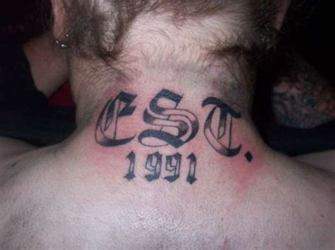 est tattoo on chest the gallery for gt est 1990 chest tattoo