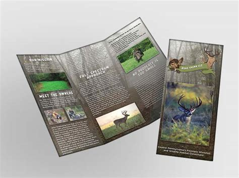 land layout brochure home grown llc land consultant brochure design by 3plains