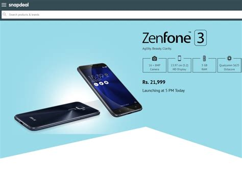 Asus Gaming Laptop In Snapdeal asus zenfone 3 price in india revealed by snapdeal technology news