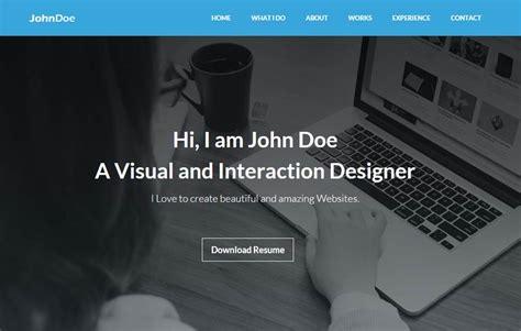 Bootstrap 3 Resume Template by Portfolio Resume Bootstrap Template Webthemez