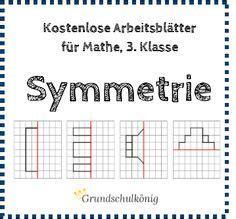 kostenlose arbeitsblaetter zum thema symmetrie