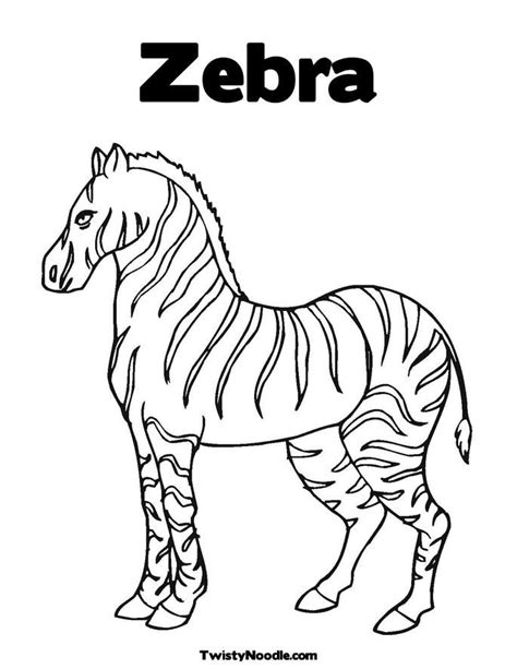 coloring page of a zebra zebra coloring sheets coloring home