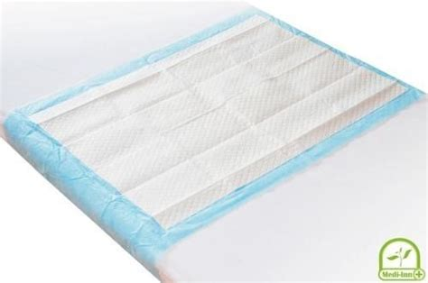 bed wetting sheets medi inn disposable 12 ply underpads 60 x 90 cm
