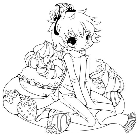 girl vet coloring page cute chibi coloring pages free coloring pages for kids 17