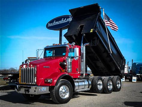 kenworth dump truck used 2012 kenworth t800 dump truck for sale in ms 6487